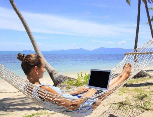 Home office a medence mellett? Nem lehetetlen